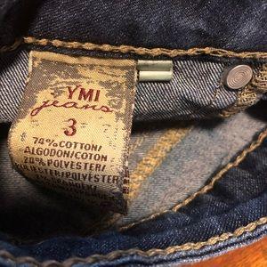 YMI Shorts - American Flag Jean Shorts